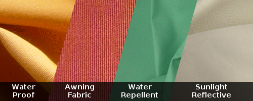 Outdoor and waterproof fabrics