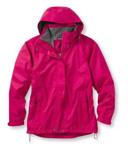 pink gortex jacket