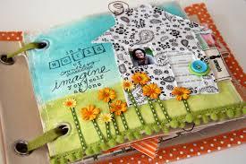 fabric scrapbook craft