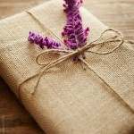 Hessian pretty packaging