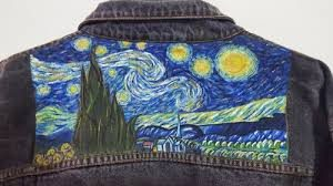 VAN VOUGH ON A DENIM JACKET