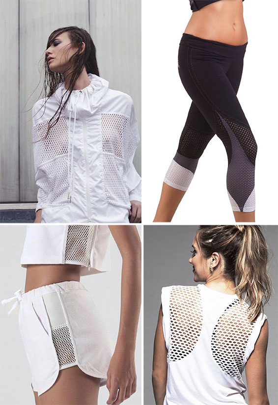Ways to use mesh fabric in sportswear fabric UK