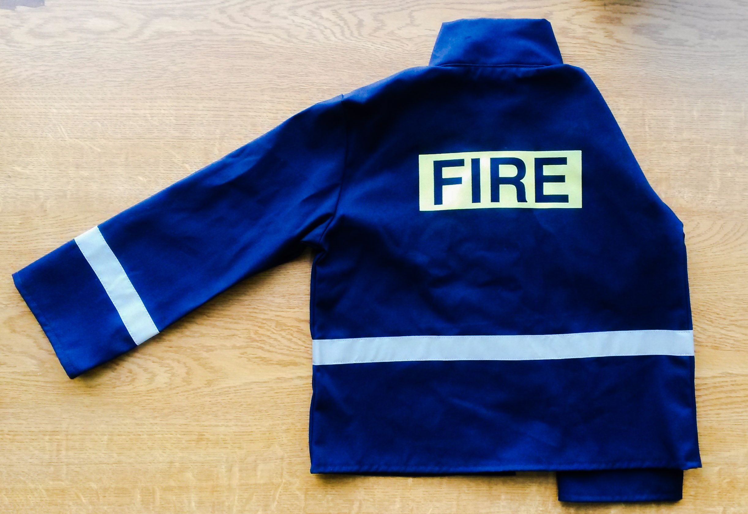 Fire jacket material