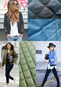 quilted for spring fashion bomber jacket