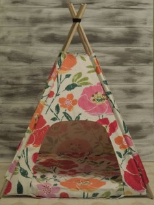 Teepee bed for pet