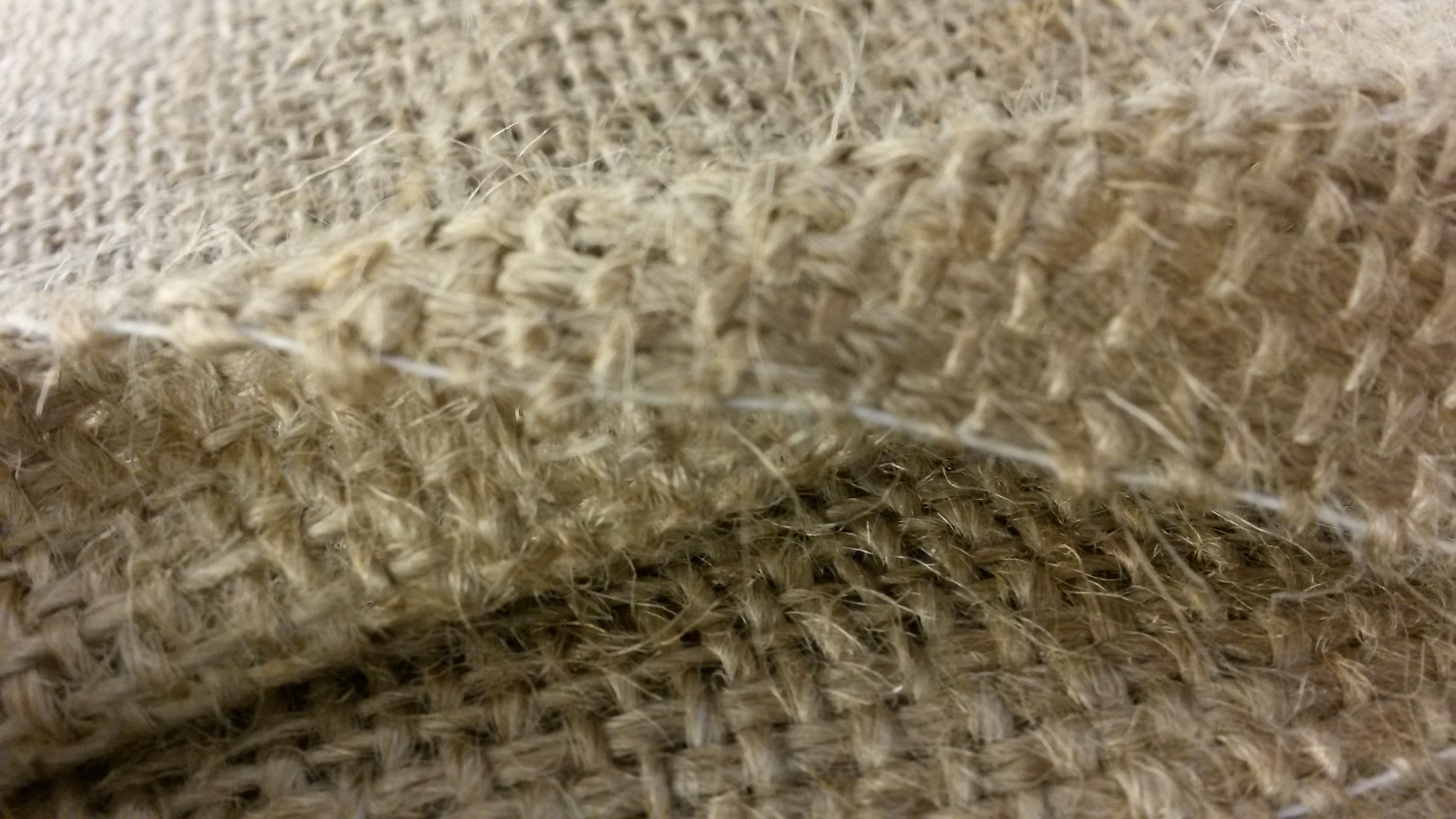 Hessian for wedding table runners