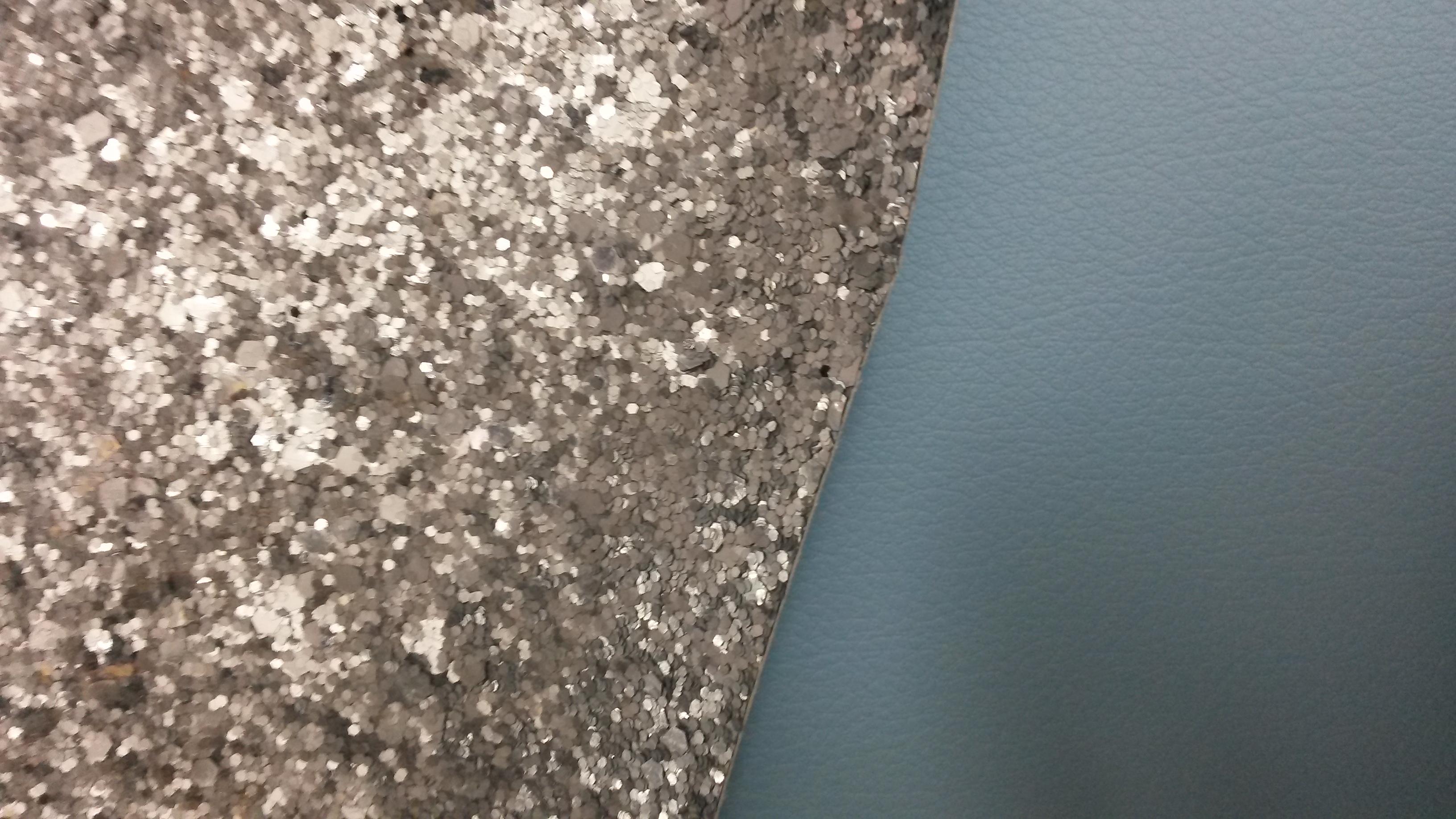 Glitter fabric roll