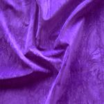 purple display fire retardant suedette fabric