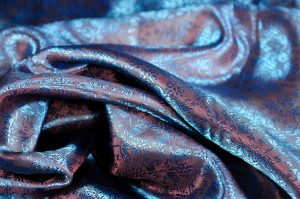 Italian jacquard fabric fillagree
