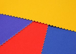 red purple yellow and royal blue neoprene fabric