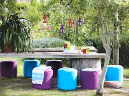 round beanbag seats