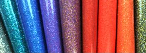 high gloss glitter vinyl fabric