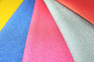 stingray vinyl fabric bright colours