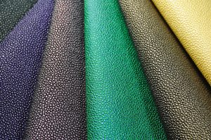 stingray vinyl fabric deep colours