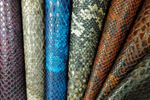 faux snakeskin fabric