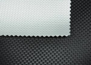 techno look check leatherette vinyl fabric