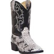 snakeskin cowboy boots