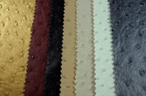 ostrich leatherette fabric