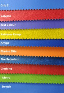 leatherette vinyl fabric textures and colours