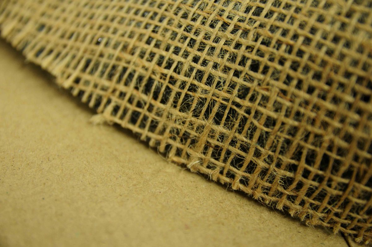 Bituminised Hessian Kraft Paper Backing