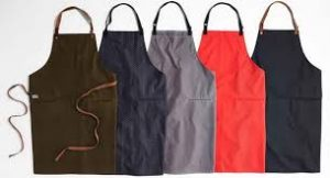 fabric cutting service apron shape