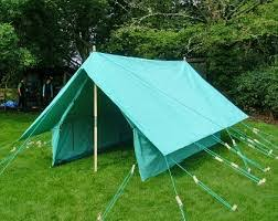 traditional green tent