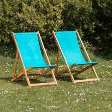 canvas deck chairs