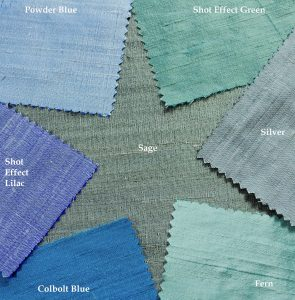 dupion silk cool shades
