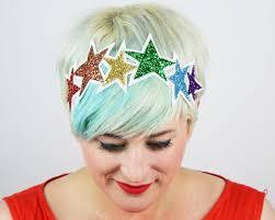 rainbow star hairband