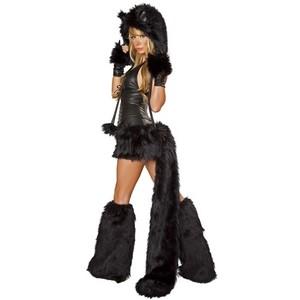 furry rave cat