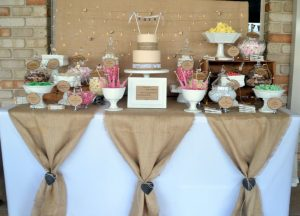 hessian wedding feature