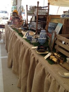 hessian antique stall
