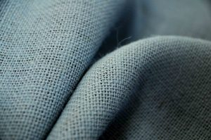 grey hessian fabric
