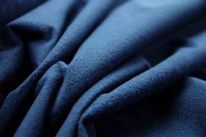 navy waterproof micro fleece fabric