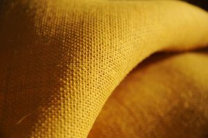 yellow hessian jute burlap fabric