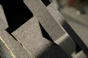sound proofing foam samples