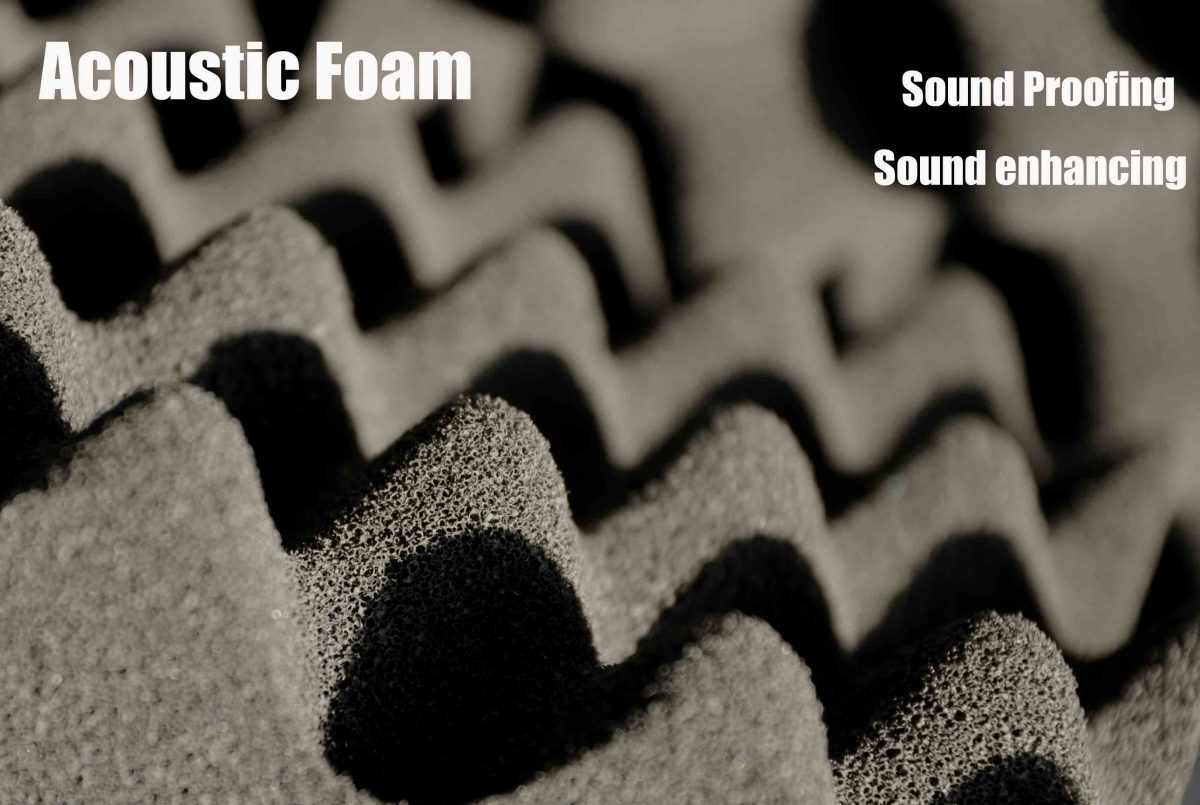Sound Proofing And Enhancing With Acoustic Foam
