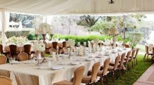 large canvas table cloth