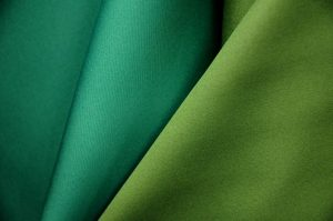 green neoprene fabric