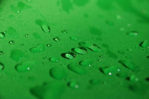 neoprene with water droplets