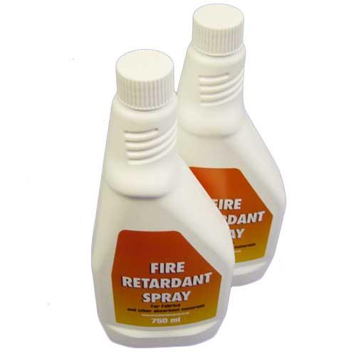 Fire Retardant Spray Usage