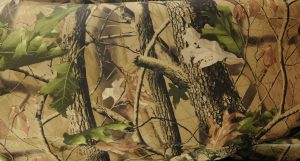 soft dry micro fleece waterproof fabric leaves and branches camouflage print