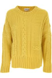 yellow acrylic jumper