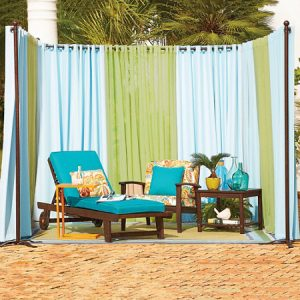 awning fabric outdoor curtains
