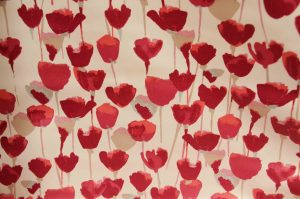 poppy sateen curtain fabric