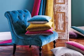 jewel coloured upholstery velvet fabric