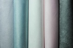 soft shades of faux suede upholstery fabric