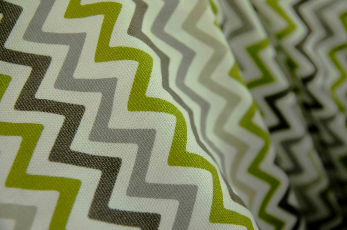 A look at zigzag fabrics