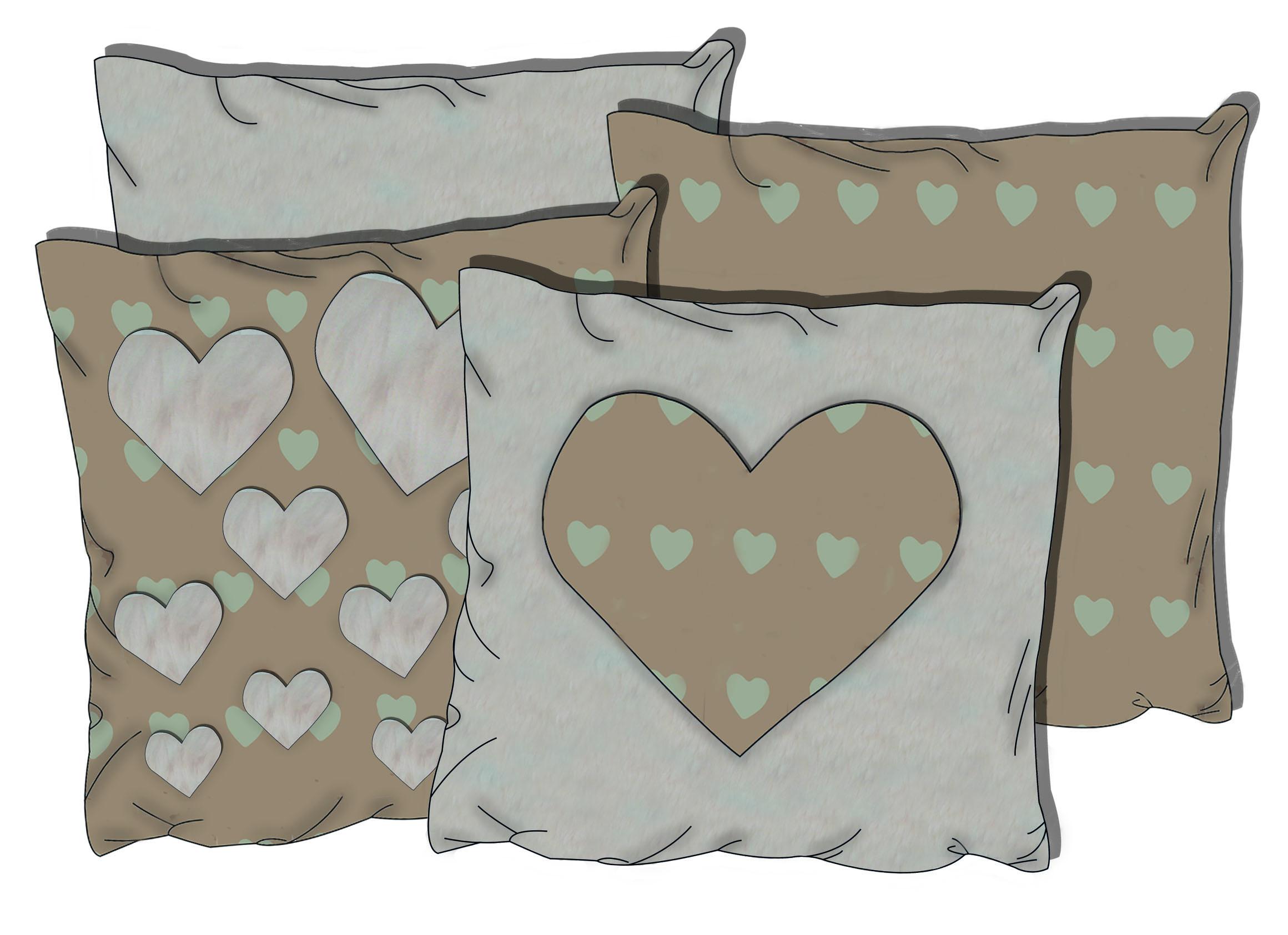 5 Ways of Using Fabrics for Valentines