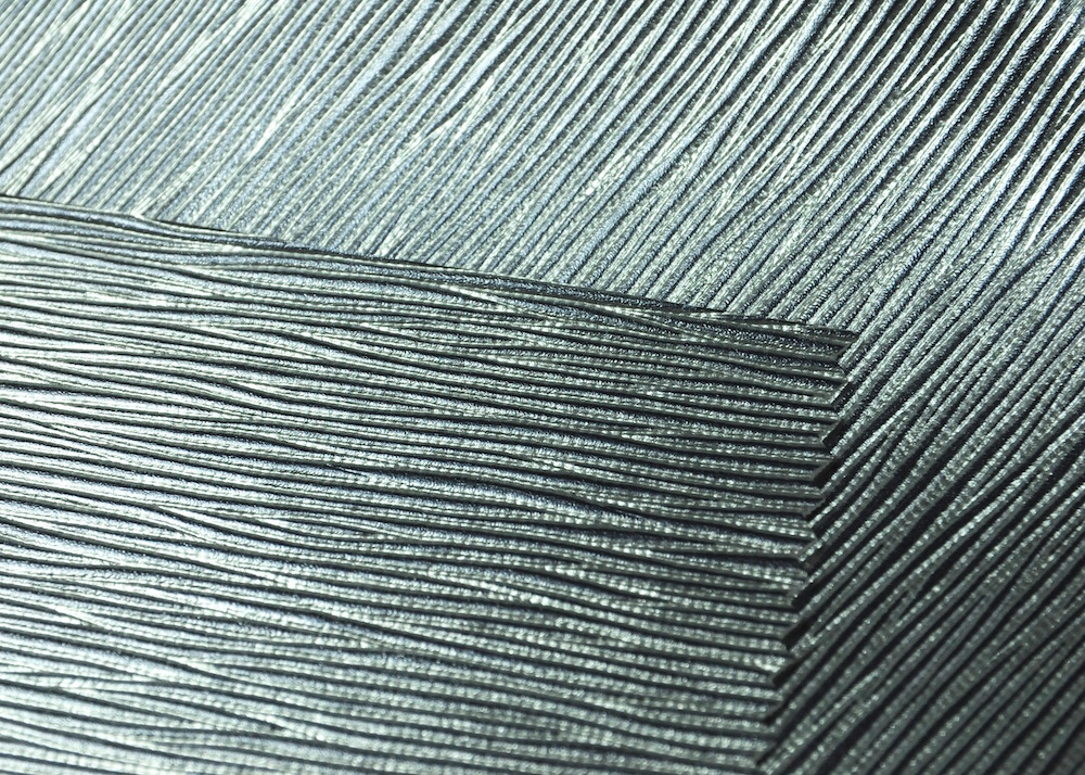 Techno Look Embossed Leatherette Vinyl Fabric